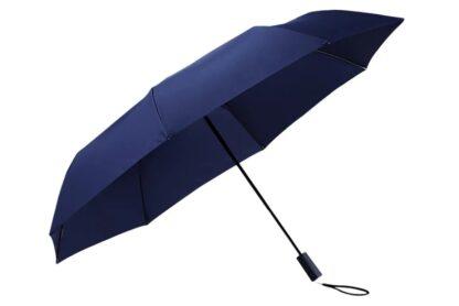 Зонт Xiaomi Tri-folded two-or-three sunny Umbrella Blue